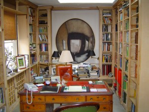 Pinter's studio